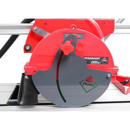 Rubi DC850 Wet Tile Saw Guard Side