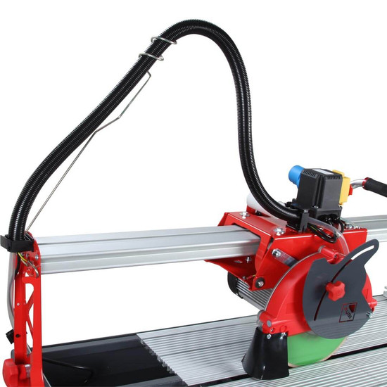Rubi DC850 Wet Tile Saw Side View