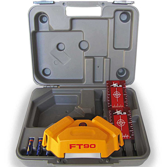 PLS FT 90 Laser Tile Layout Tool with Carrying Case