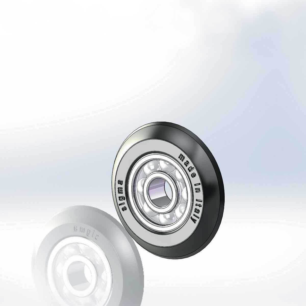 14MX Sigma carbide Wheel