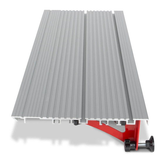 Rubi Tile Saw Side Table Surface