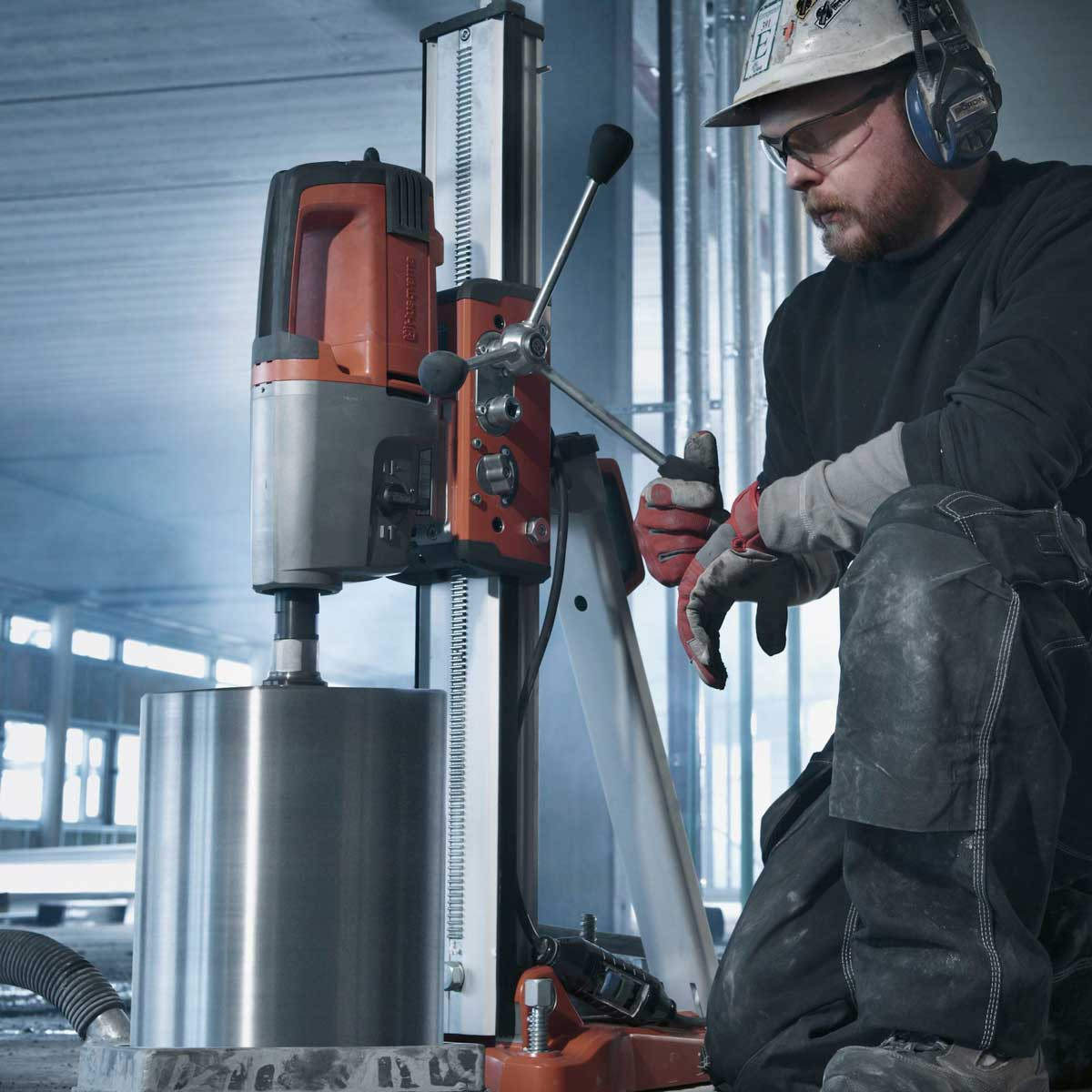 Husqvarna DM340 Motor floor Drill