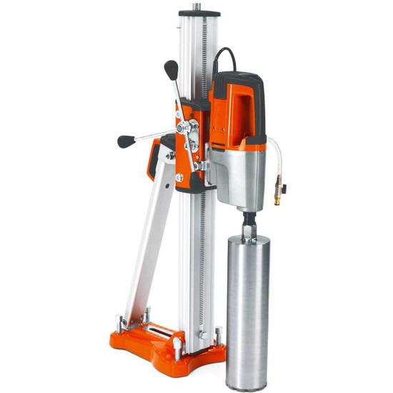 Husqvarna DS450 Stand with Optional Motor and Diamond Core Bit