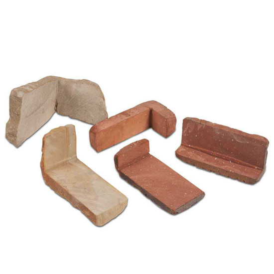 Brick Corner Cut Pieces from Higgins Jig