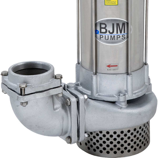 2 inch BJM JX750SS-115 Stainless Steel Submersible Pump
