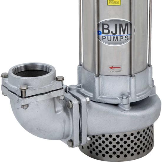 """BJM JX750SS-115 2"""" Side Discharge Port"""