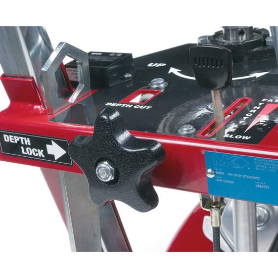 MK-1600 Flat Saw Control Panel