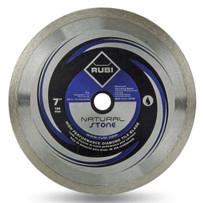 rubi 7in natural stone diamond blade