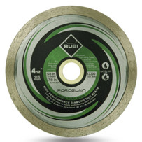 rubi 4 1/2in porcelain dry diamond blade