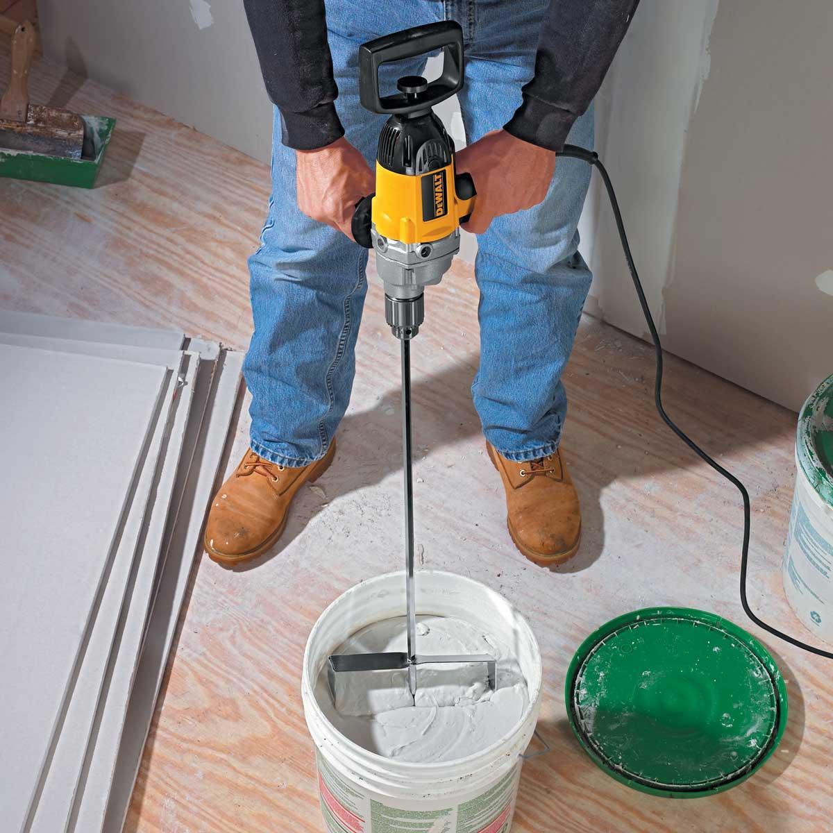 Dewalt DW130V electric mixing drill