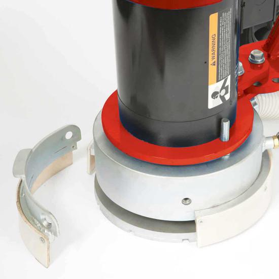 SDG floor grinder removable shroud