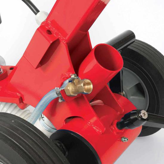 mk diamond sdg floor grinder vacuum port