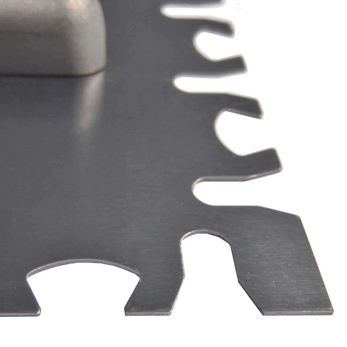 Ultragrip Euro Notch tile Trowel