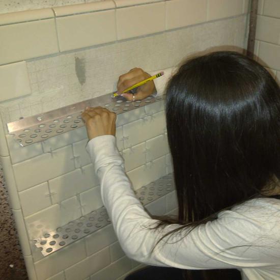 Innovis Tile Ledge Installation