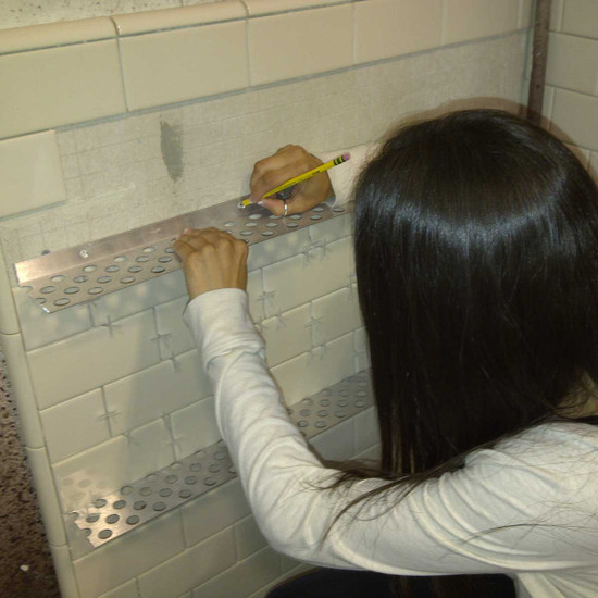 Innovis Tile Ledge Installation