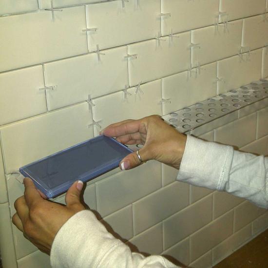 Installing Wall Tile Ledge