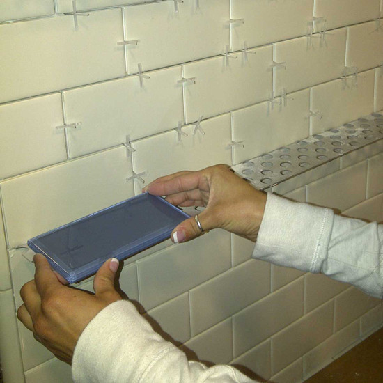 Installing Wall Tile Ledge