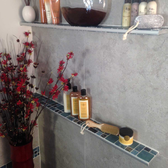 Tile Shower Shelves