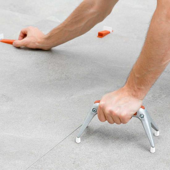 LTHGS Raimondi Fido Ergonomic Support using RLS leveling system for a lippage free floor