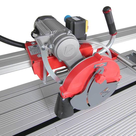 """Rubi DX250-1000 44"""" Tile Saw belt driven motor"""