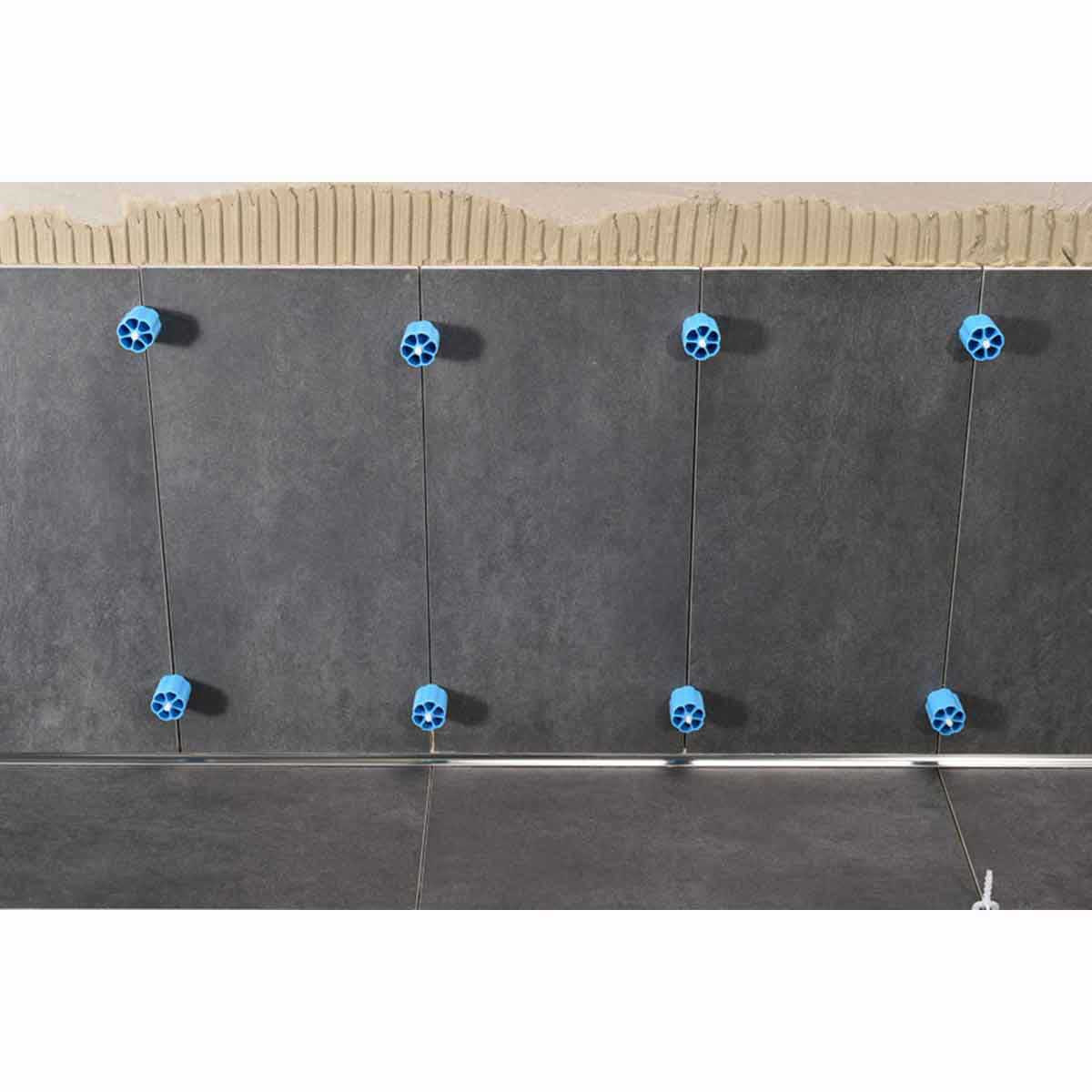 pro leveling system wall installation