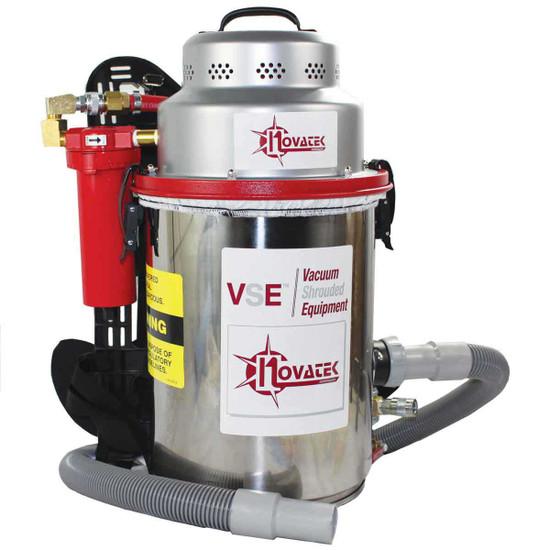 VA03ABK Novatek Pneumatic Backpack Vacuum