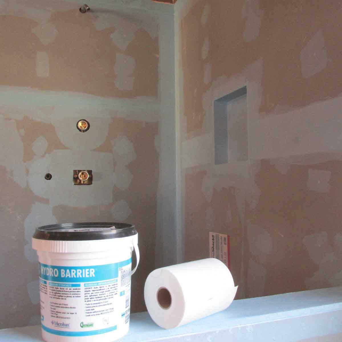 Waterproofing Membrane install