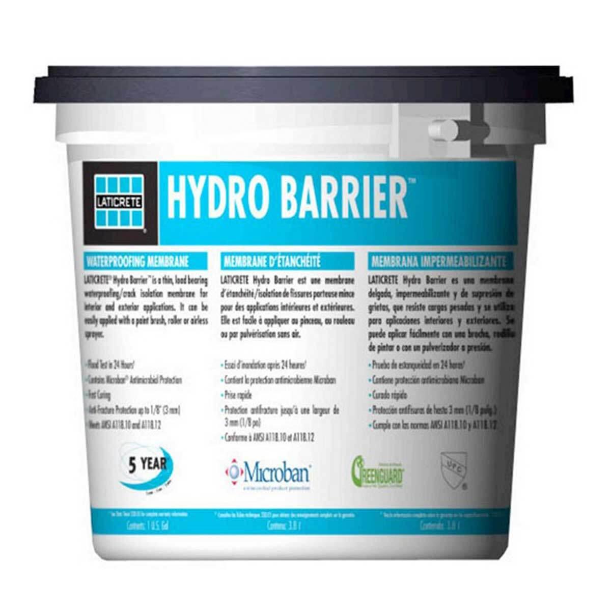 Laticrete Hydro Barrier gallon