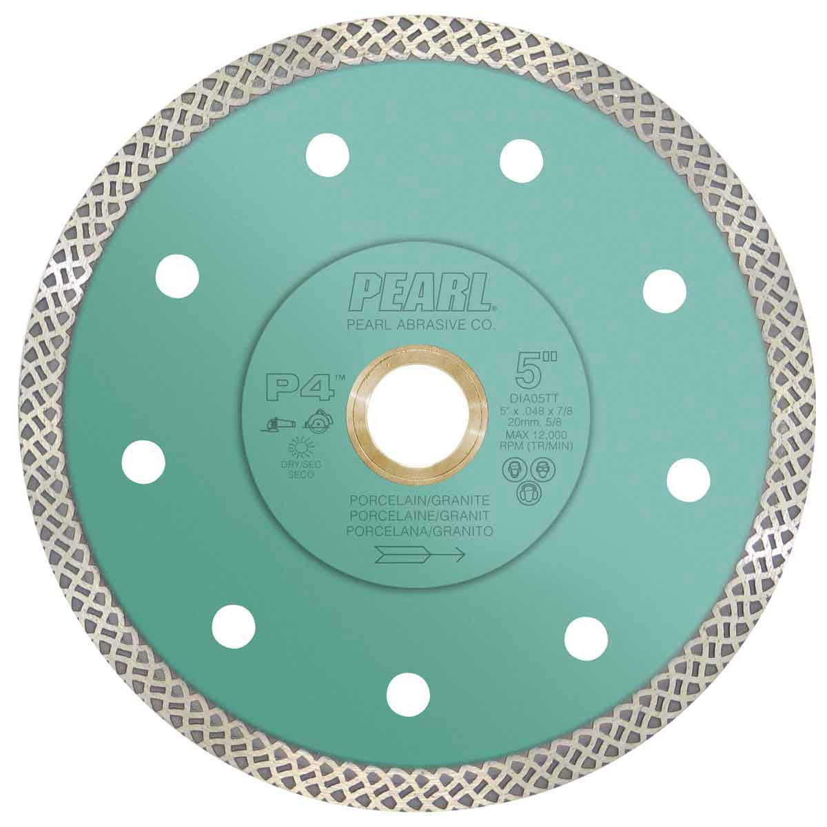 pearl p4, turbo mesh, tile blade