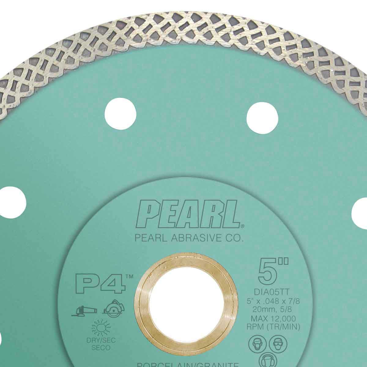 pearl p4 turbo mesh diamond blade for porcelain