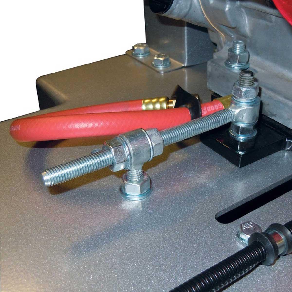 Norton Clipper blade adjust