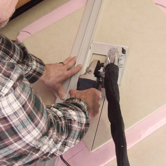 EcoGuard Type C Cutting with Guide Rail