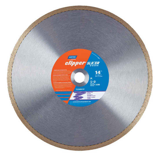 Norton Clipper Slicer Diamond bridge saw Blade