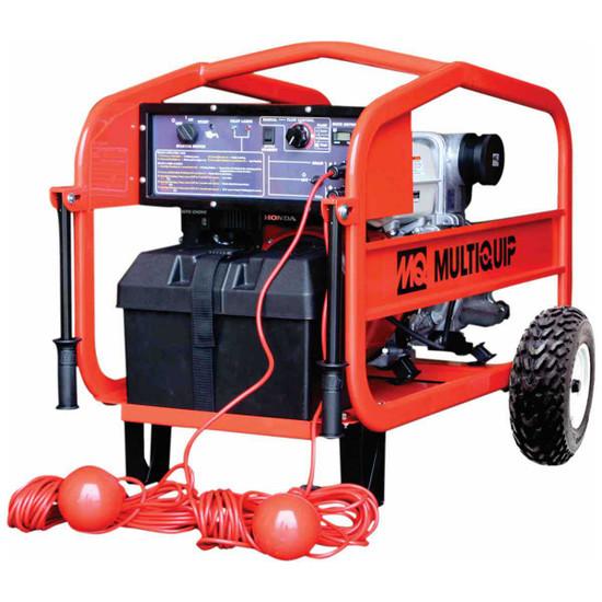 Multiquip Trash Pump 396 GPM 3in QP3Ti