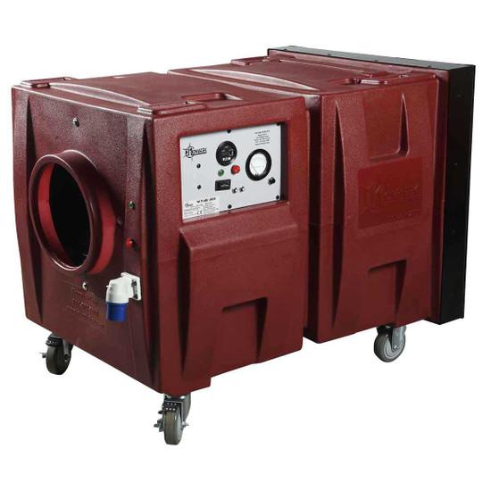 Novair 2000BIO Negative Air Machine Control Panel