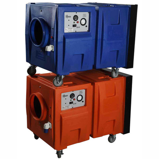 Stackable Negative Air Machines