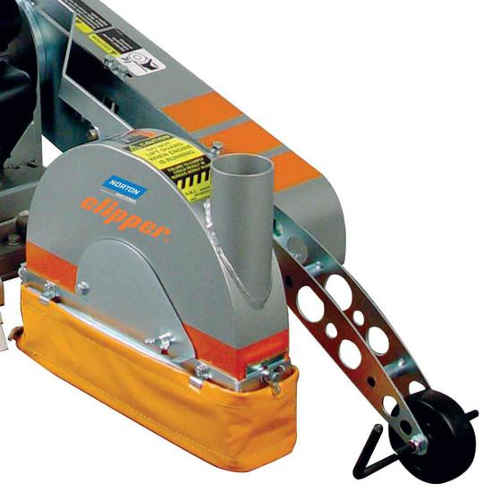 Norton Clipper GC25EUP Vacuum Port