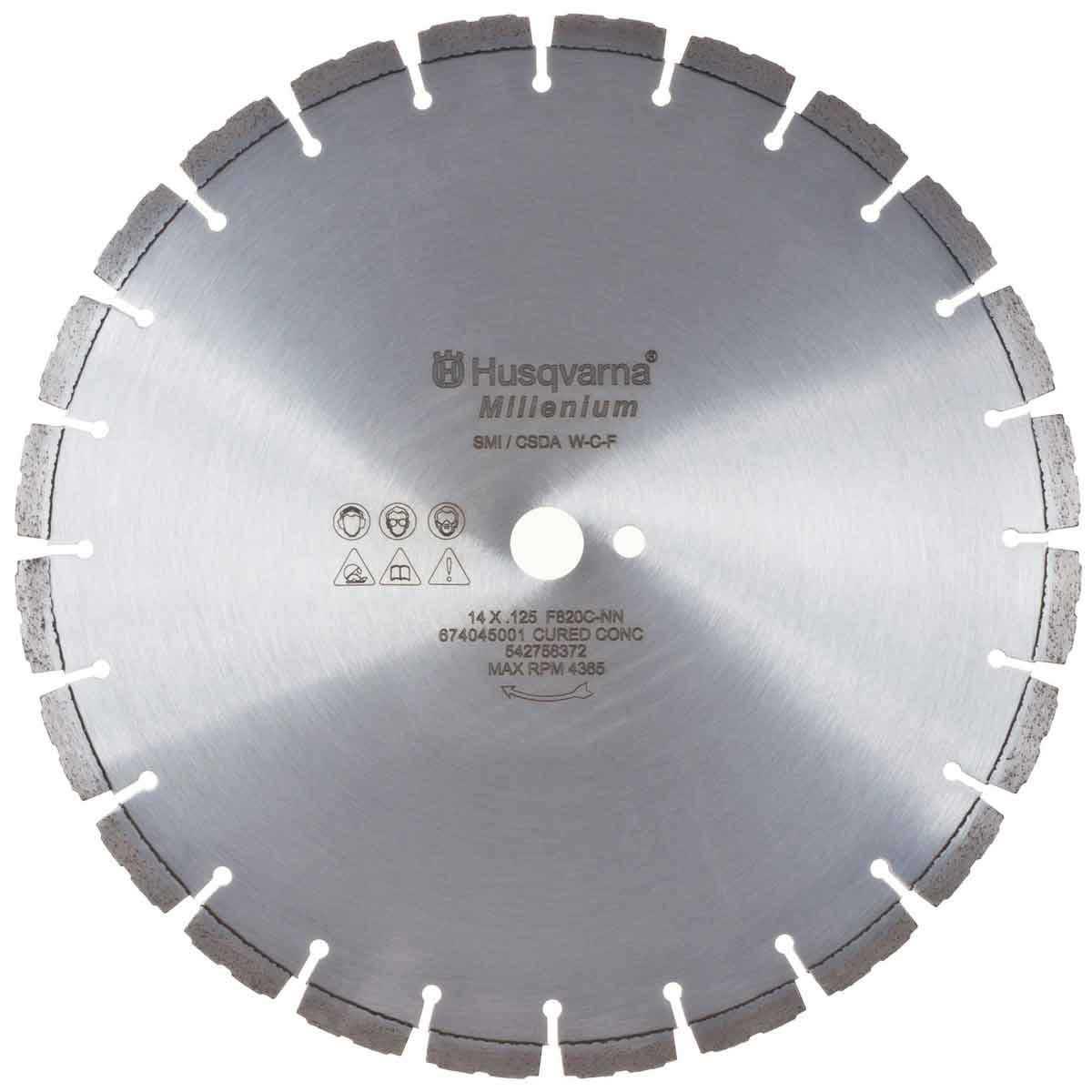 Husqvarna Millenium F820C Diamond Blades