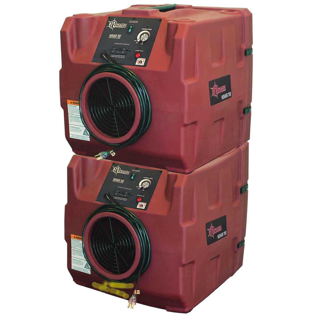 Stackable Novair 700 Air Purifier with Hepa Filter