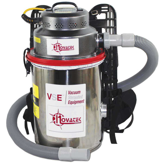 Novatek Electric Hepa Backpack Vacuum