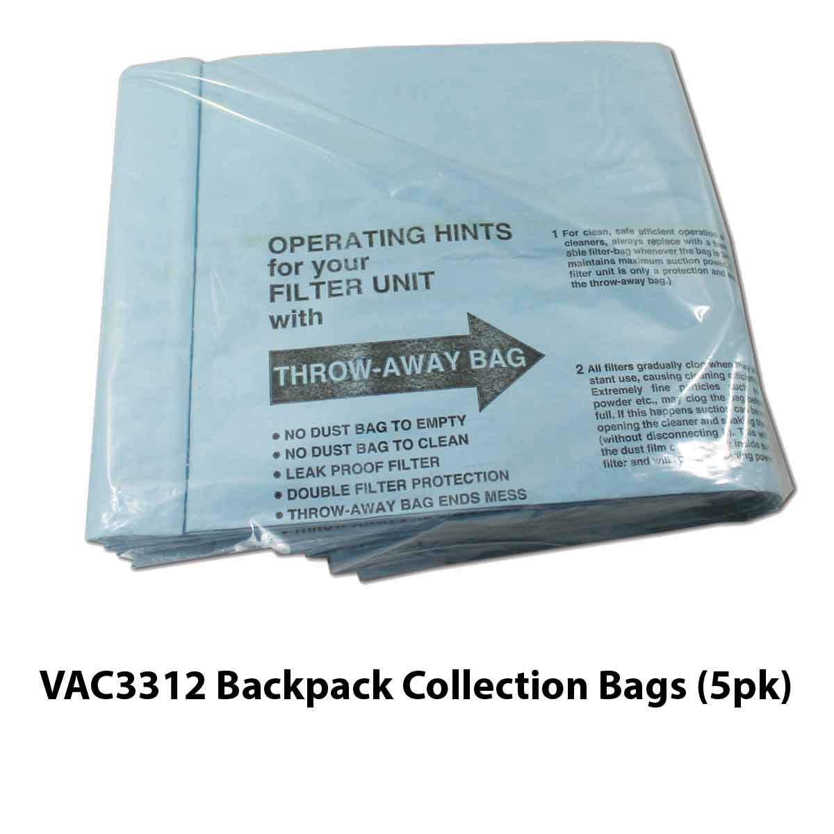 Novatek Backpack moisture filter