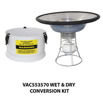 VAC553570 Wet and Dry Conversion Kit