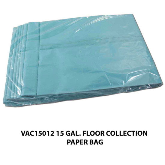 VAC15012 15 gallon Floor Collection Paper Bag