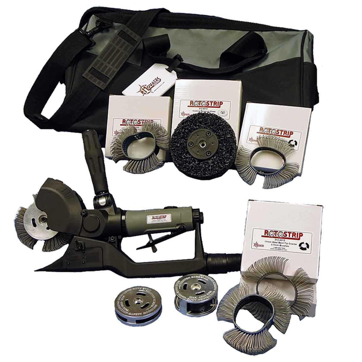 Novatek RotoStrip industrial kit