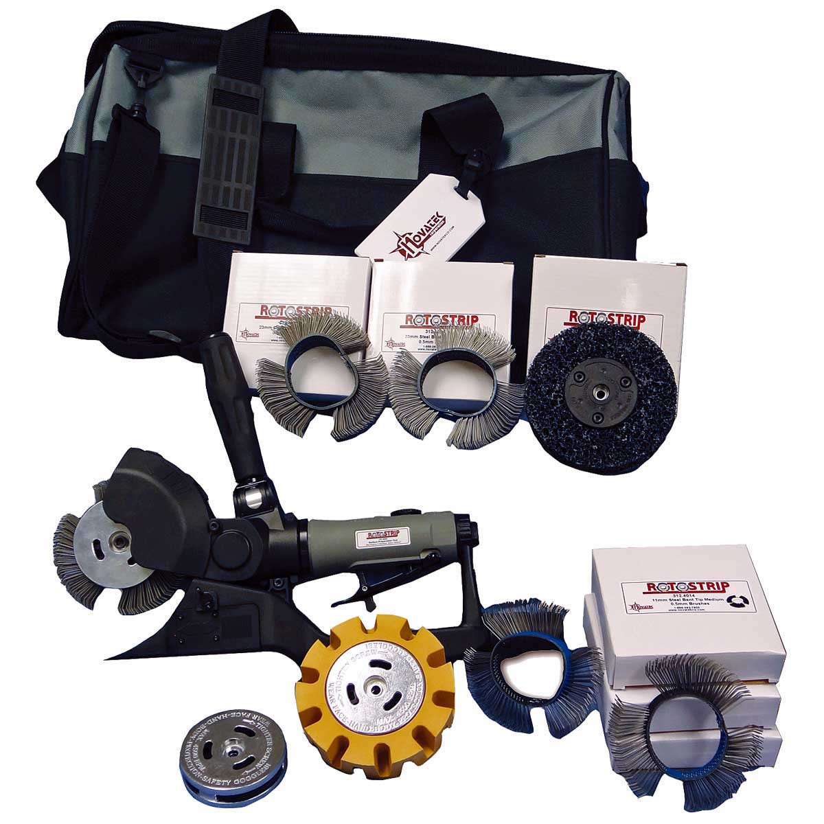 Novatek RotoStrip Air Tool auto kit