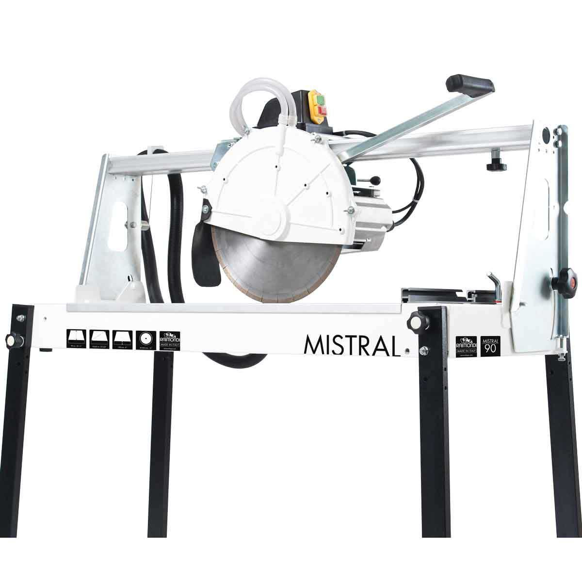Raimondi Mistral 90 rail saw with extended handle