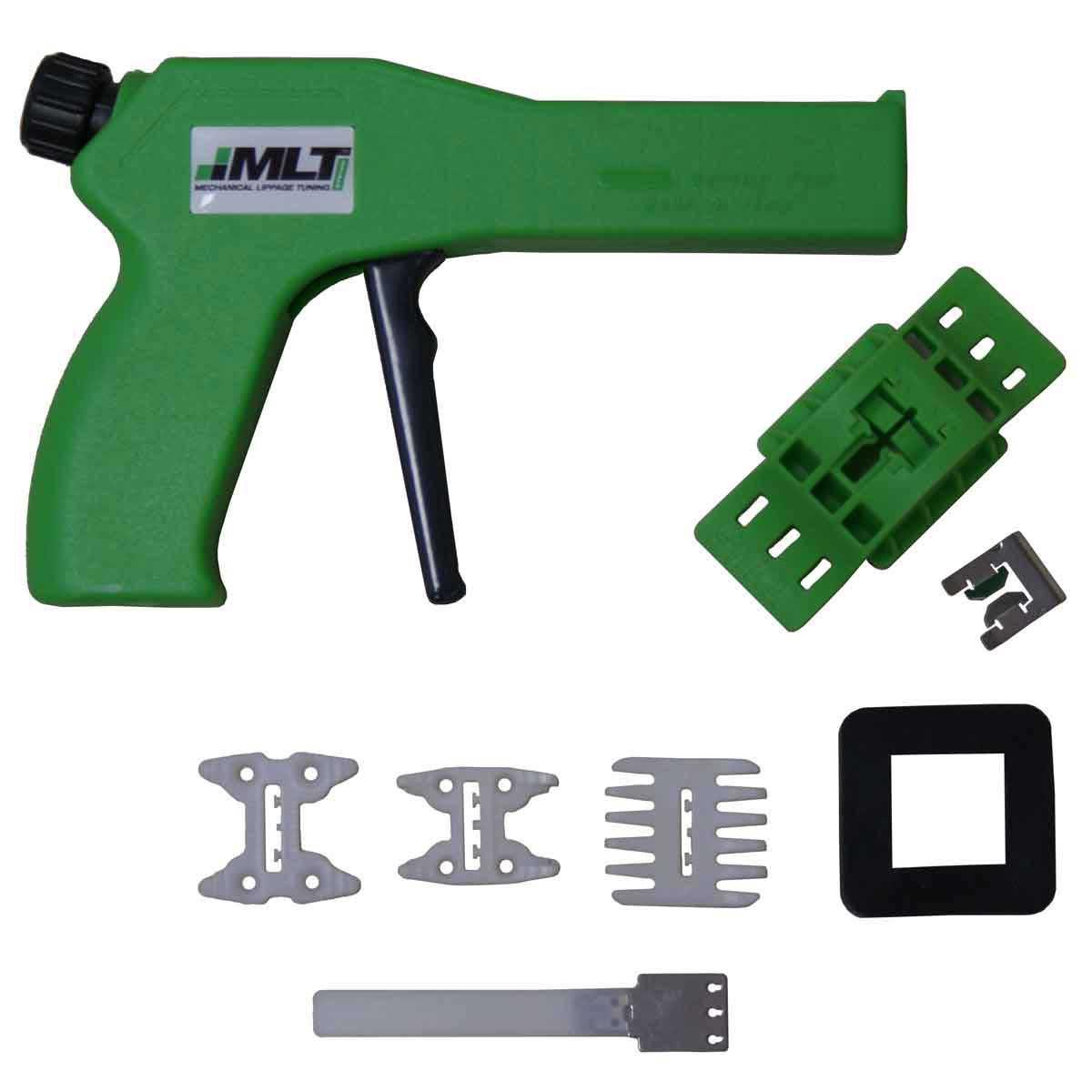 mlt ergonomic gun with kit assembly and reusable cap