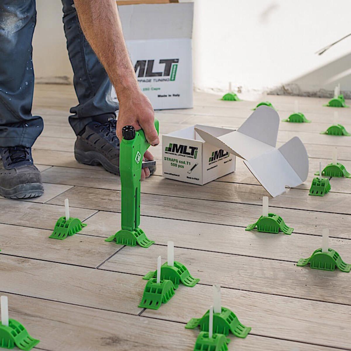 MLT Reusable Caps gun leveling tile