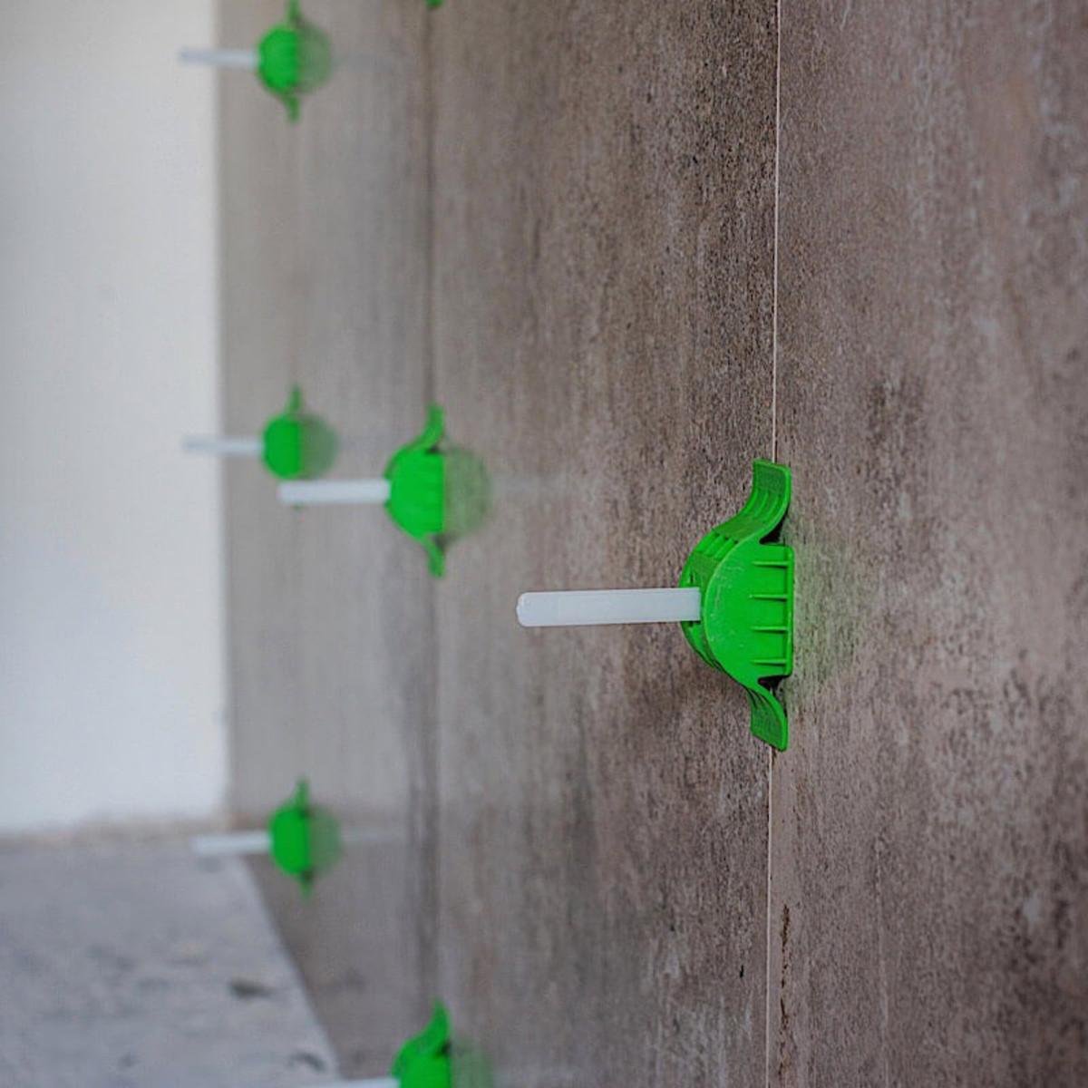 MLT Reusable Caps wall installation