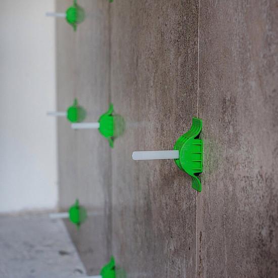 MLT250CAP MLT wall tile bathroom installation, Reusable Caps